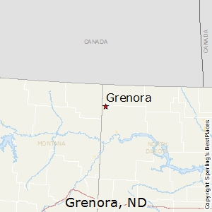 Grenora,North Dakota Map
