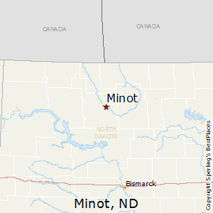 Minot,North Dakota Map