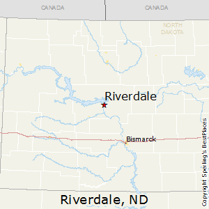 Riverdale,North Dakota Map