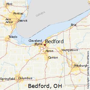 Comparison: Hudson, Ohio   Bedford, Ohio
