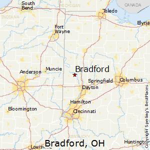 Bradford, Ohio Cost of Living