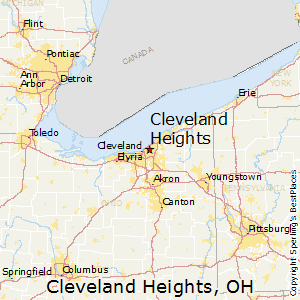 Cleveland_Heights,Ohio Map