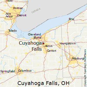 Cuyahoga_Falls,Ohio Map