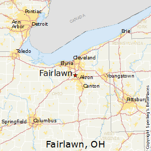Fairlawn Ohio Map.Best Places To Live In Fairlawn Ohio