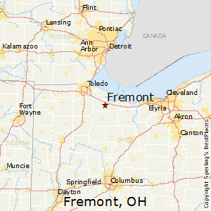Best Places to Live in Fremont, Ohio