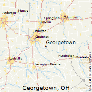 Georgetown,Ohio Map