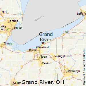 Grand_River,Ohio Map