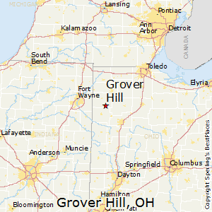 Grover_Hill,Ohio Map