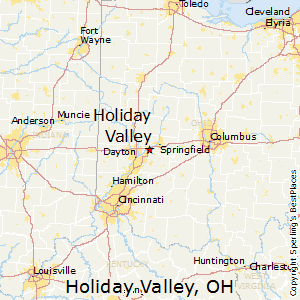 Christmas Valley Ohio Map Best Places to Live in Holiday Valley, Ohio
