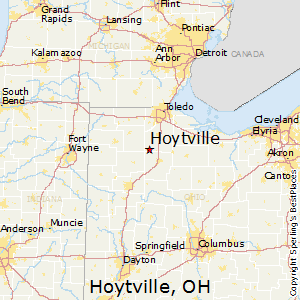 Hoytville,Ohio Map