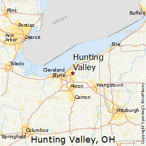 Hunting_Valley,Ohio Map