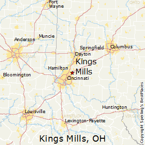 Kings_Mills,Ohio Map