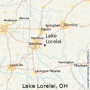 Lake_Lorelei,Ohio Map