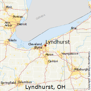 Lyndhurst Ohio Map.Best Places To Live In Lyndhurst Ohio