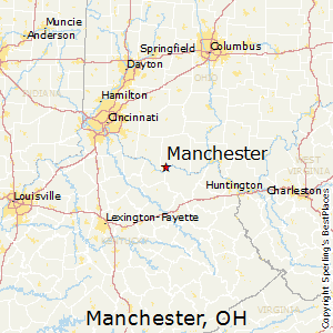 Manchester Ohio Map.Best Places To Live In Manchester Ohio