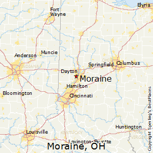 Moraine Ohio Map.Best Places To Live In Moraine Ohio