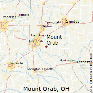 Mount_Orab,Ohio Map