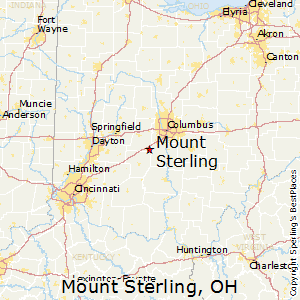 Mount_Sterling,Ohio Map