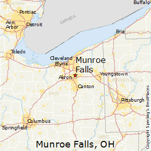 Munroe_Falls,Ohio Map