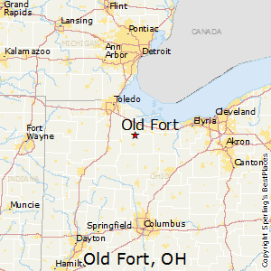 Old_Fort,Ohio Map