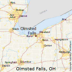 Olmsted_Falls,Ohio Map