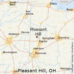 Pleasant_Hill,Ohio Map