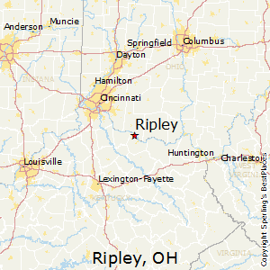 Ripley Ohio Map.Best Places To Live In Ripley Ohio