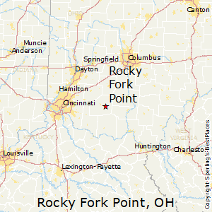 Rocky_Fork_Point,Ohio Map