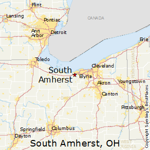 South_Amherst,Ohio Map