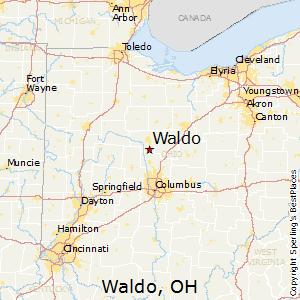 Waldo Ohio Map.Best Places To Live In Waldo Ohio