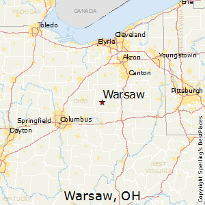 Comparison: Warsaw, Ohio   Danville, Ohio