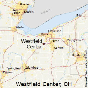 Westfield_Center,Ohio Map