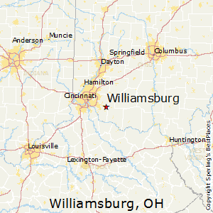 Williamsburg,Ohio Map