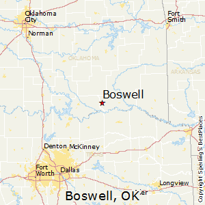 Boswell,Oklahoma Map
