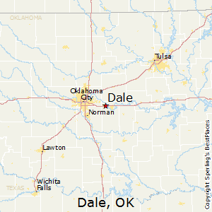 Dale,Oklahoma Map