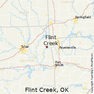 Flint_Creek,Oklahoma Map