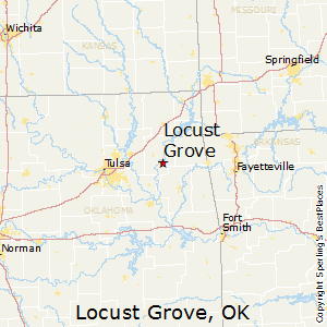 Locust_Grove,Oklahoma Map