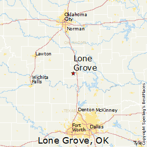 Grove Oklahoma Map.Best Places To Live In Lone Grove Oklahoma