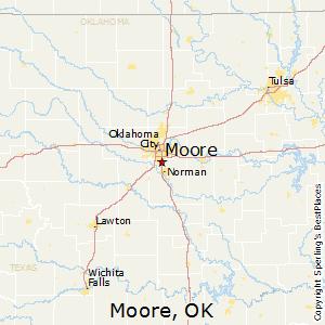 Comparison: Moore, Oklahoma   Edmond, Oklahoma