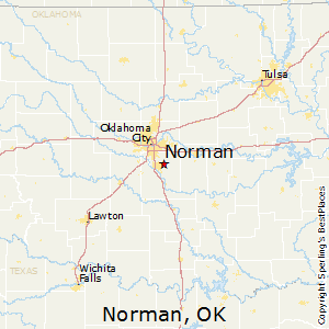 Comparison: Stillwater, Oklahoma   Norman, Oklahoma