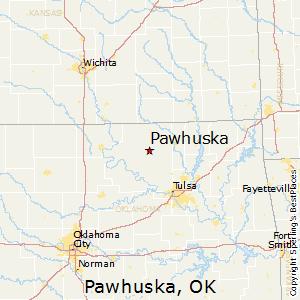 Pawhuska Ok Map Comparison: Tulsa, Oklahoma   Pawhuska, Oklahoma Pawhuska Ok Map