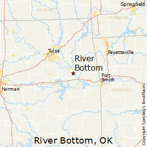 River_Bottom,Oklahoma Map