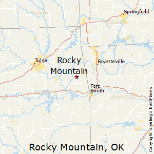 Mountains In Oklahoma Map.Rocky Mountain Oklahoma Cost Of Living