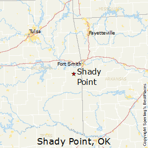 Shady_Point,Oklahoma Map
