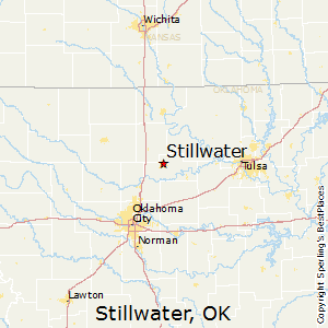 Stillwater,Oklahoma Map
