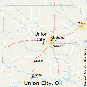 Union_City,Oklahoma Map
