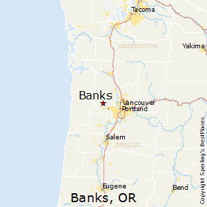 Map Of Banks Oregon Best Places to Live in Banks, Oregon