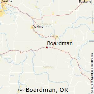 Boardman Oregon Map Best Places to Live in Boardman, Oregon