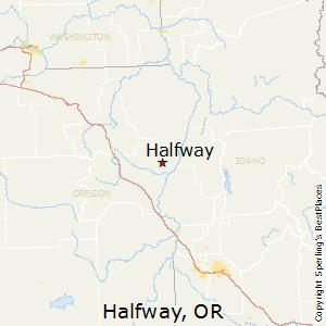 Halfway Oregon Map.Best Places To Live In Halfway Oregon