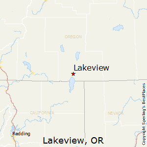 Lakeview Oregon Map Best Places to Live in Lakeview, Oregon